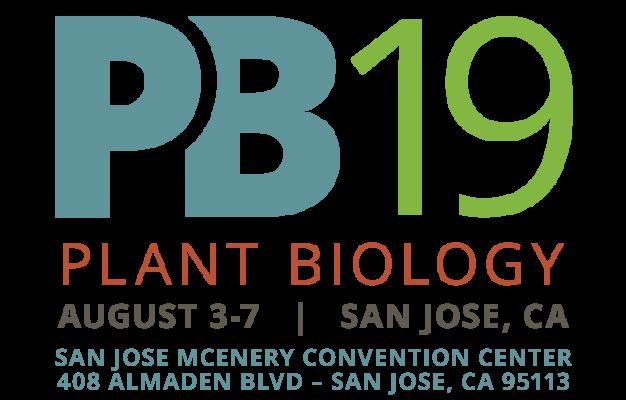 Plant Biology 2019 | August 3-7 | San Jose, CA